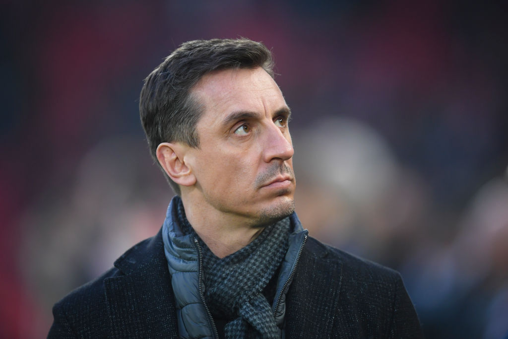 Gary Neville has admitted he is excited about Liverpool potentially signing Thiago