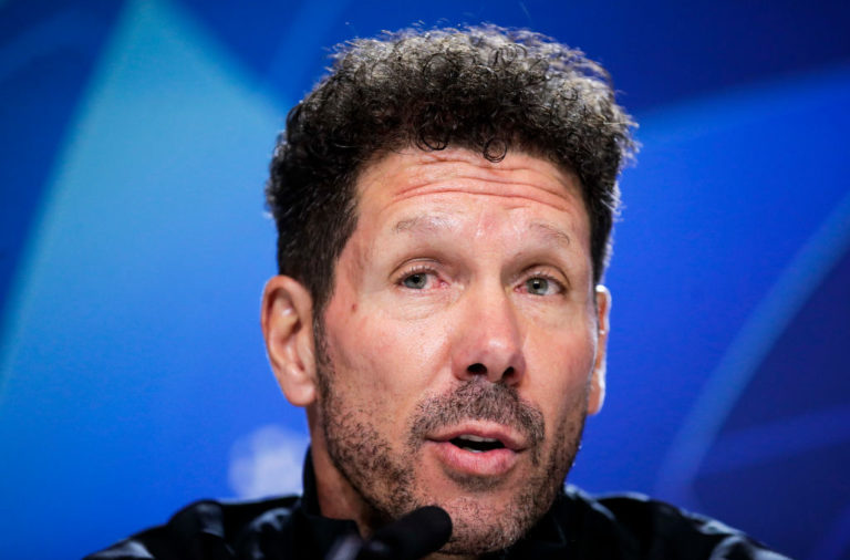 Diego Simeone has predicted Liverpool will face an explosive atmosphere.