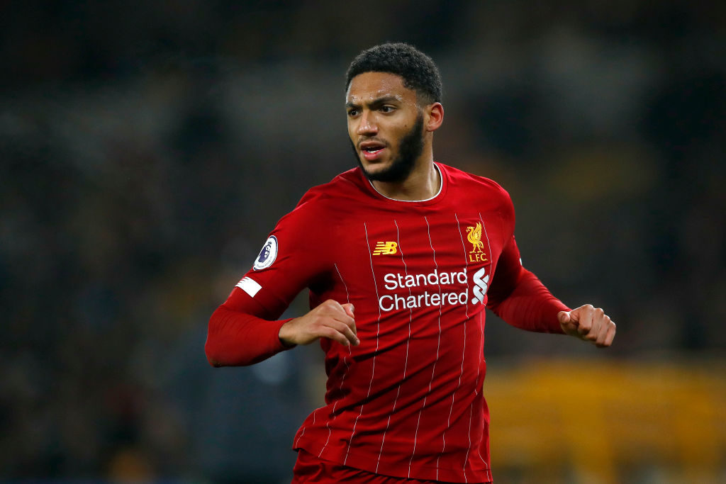 Joe Gomez has been in brilliant form over the last two months.