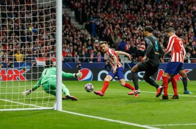 Saul Niguez scored an early goal to ruin the Liverpool plan.
