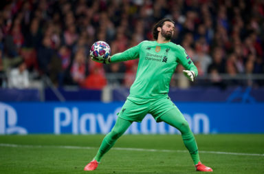 Alisson was unlucky tonight, he scores well in our Liverpool player ratings v Atletico Madrid.