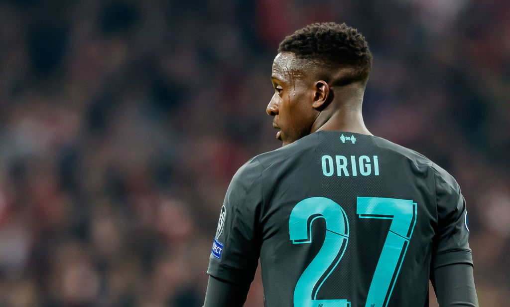Divock Origi can force his way into that second leg against Atletico Madrid.