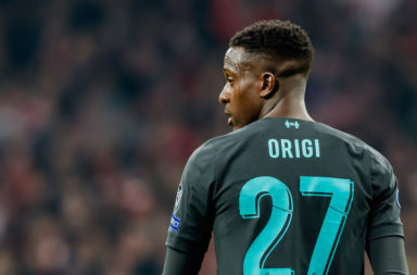 Divock Origi is currently a squad player.