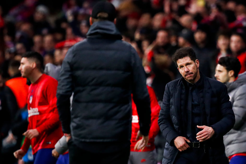 Diego Simeone oversaw a victory on Tuesday.
