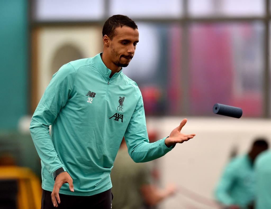 Joel Matip is back and ready to fight for his place.