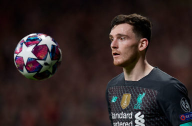 Andy Robertson isn't quite as successful as last season.