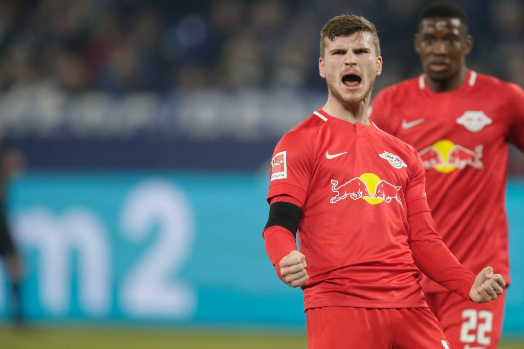 Timo Werner will reportedly move to Liverpool.