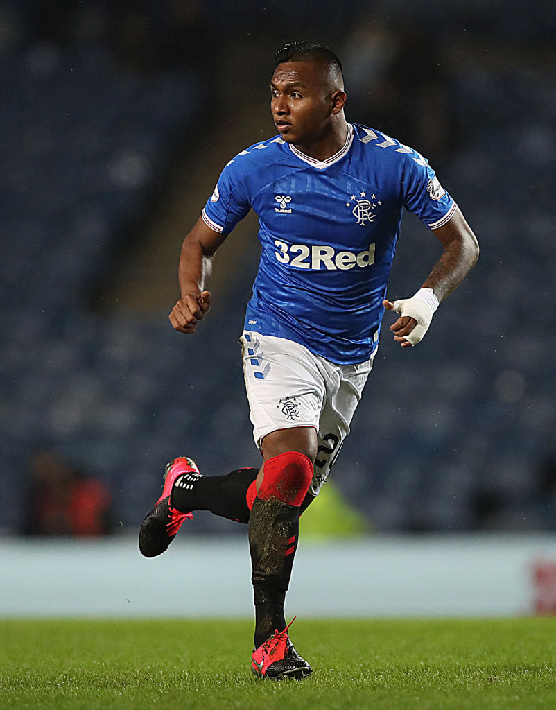 Liverpool are tracking Alfredo Morelos according to the striker.