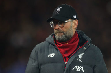 Footage of Jürgen Klopp in the tunnel at Anfield sums up the mentality at Anfield at the minute.