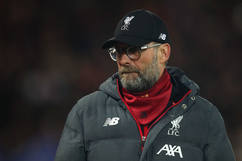 Tunnel footage of Jürgen Klopp sums up mentality at Anfield