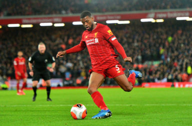 Liverpool can afford to drop Gini Wijnaldum for home games.