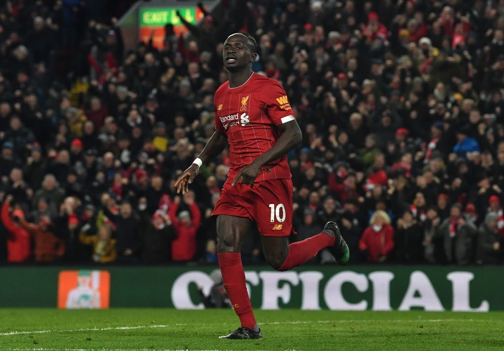 Liverpool needed a late Sadio Mane goal to beat West Ham.
