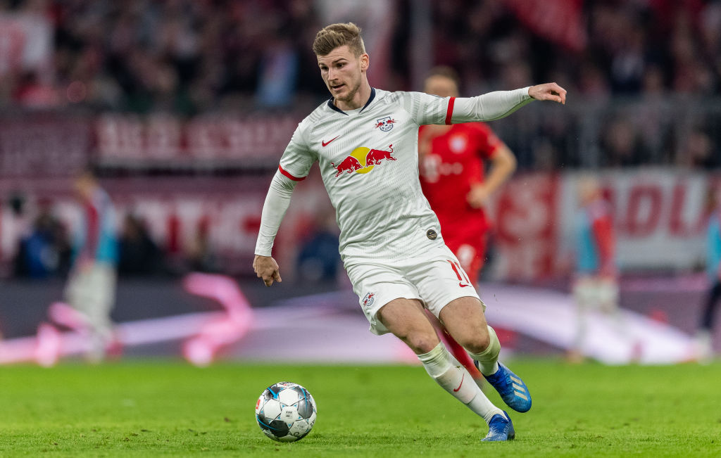 Inter One Of Five Clubs Courting RB Leipzig Striker Timo Werner