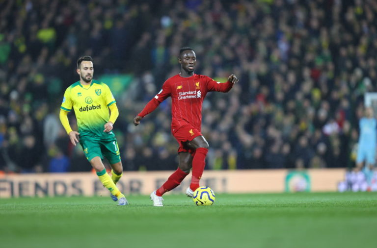 Naby Keita had a mixed bag of a performance against Norwich City.