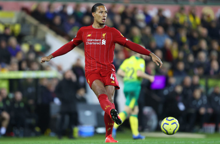 Virgil van Dijk has been described as 'out of the world' by Sven-Goran Eriksson.