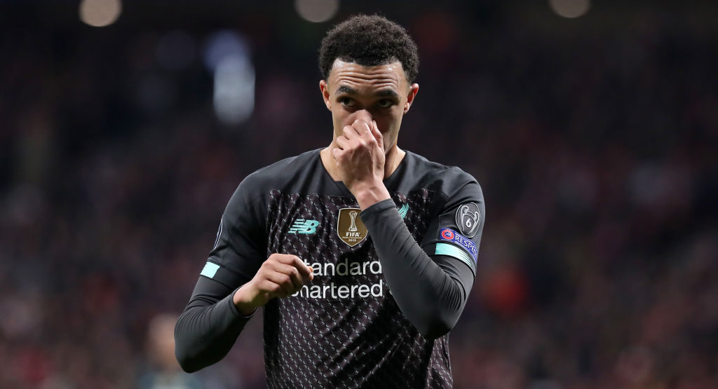 Atletico Madrid defeat gave everyone a stark Trent Alexander-Arnold reminder