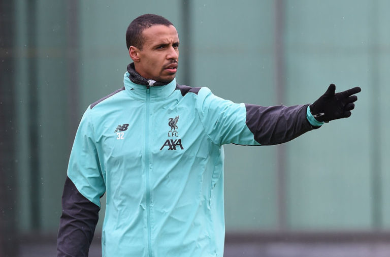 Joel Matip will struggle for selection this season.