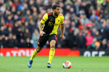 Troy Deeney has joked about facing Liverpool on Saturday.
