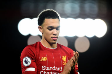 Gary Neville has heaped praise on the 'out of this world' Alexander-Arnold.