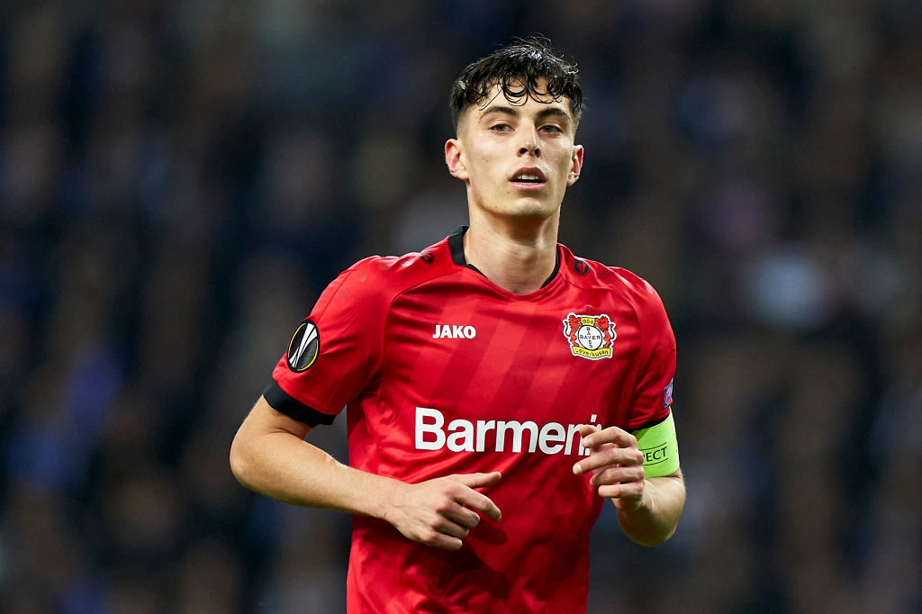 Bayern Munich are no longer targeting Kai Havertz for the moment.