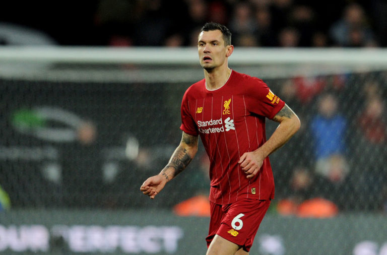Dejan Lovren was a surprise inclusion against Watford.
