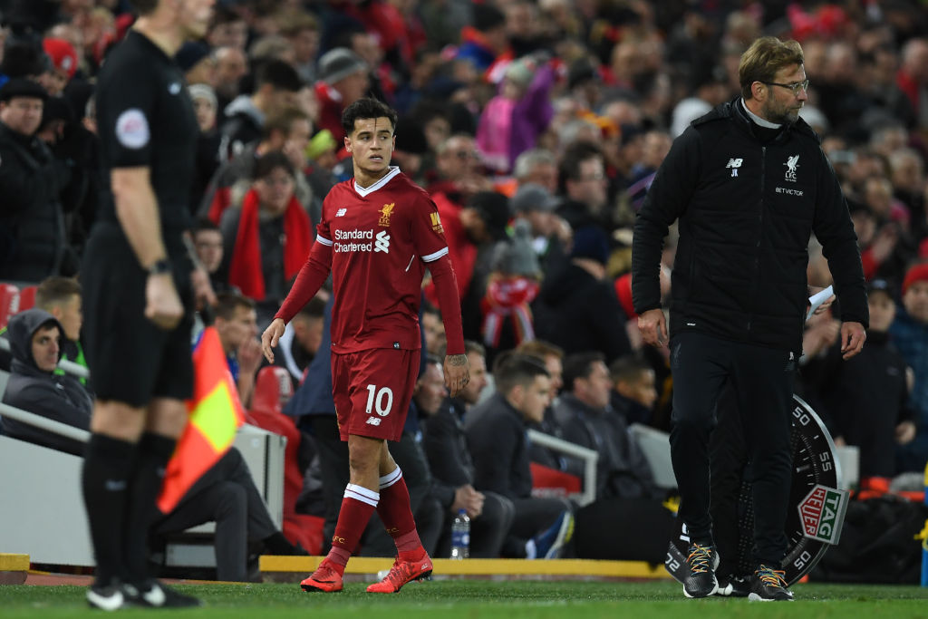 Philippe Coutinho sends message to Liverpool over Premier League title success