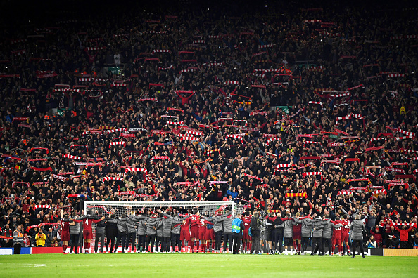 Playing at an empty Anfield in the Champions League will be a massive blow to Liverpool.