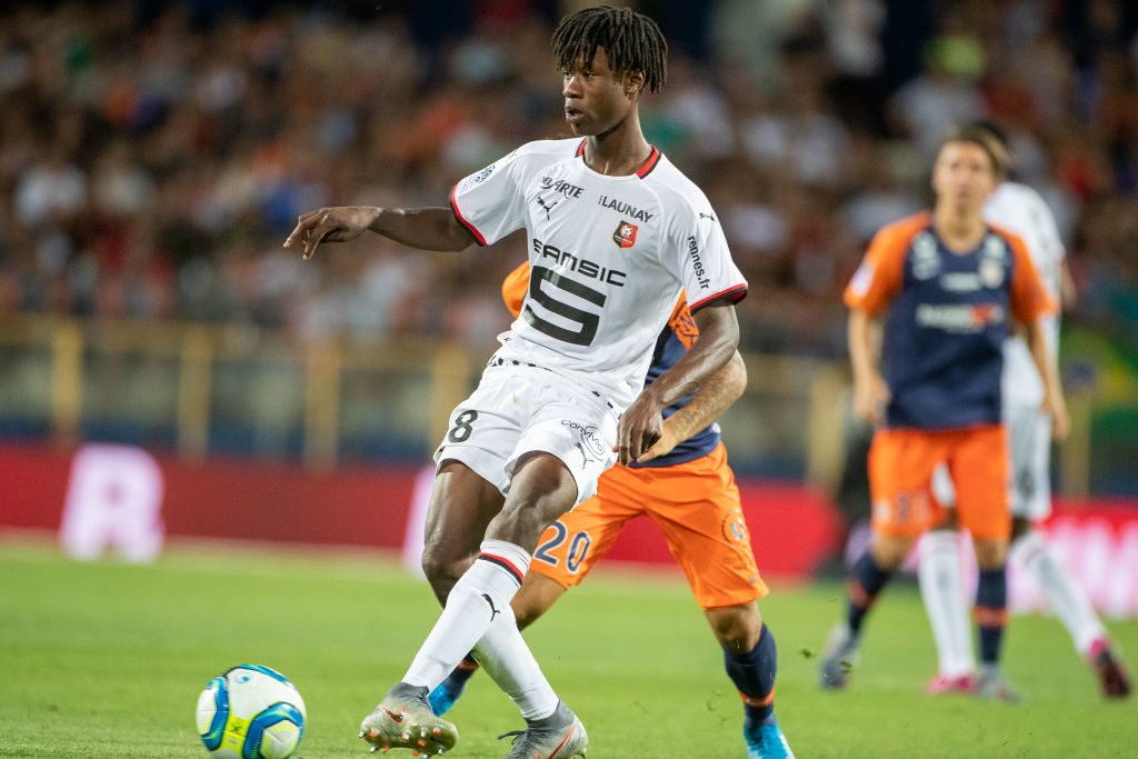 Eduardo Camavinga could stay with Rennes for another year.