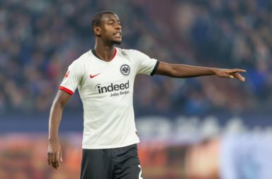 Liverpool are reportedly tracking Evan N'dicka of Eintracht Frankfurt.