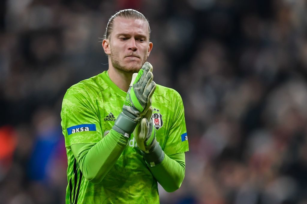 Loris Karius would take a wage cut to leave Liverpool.