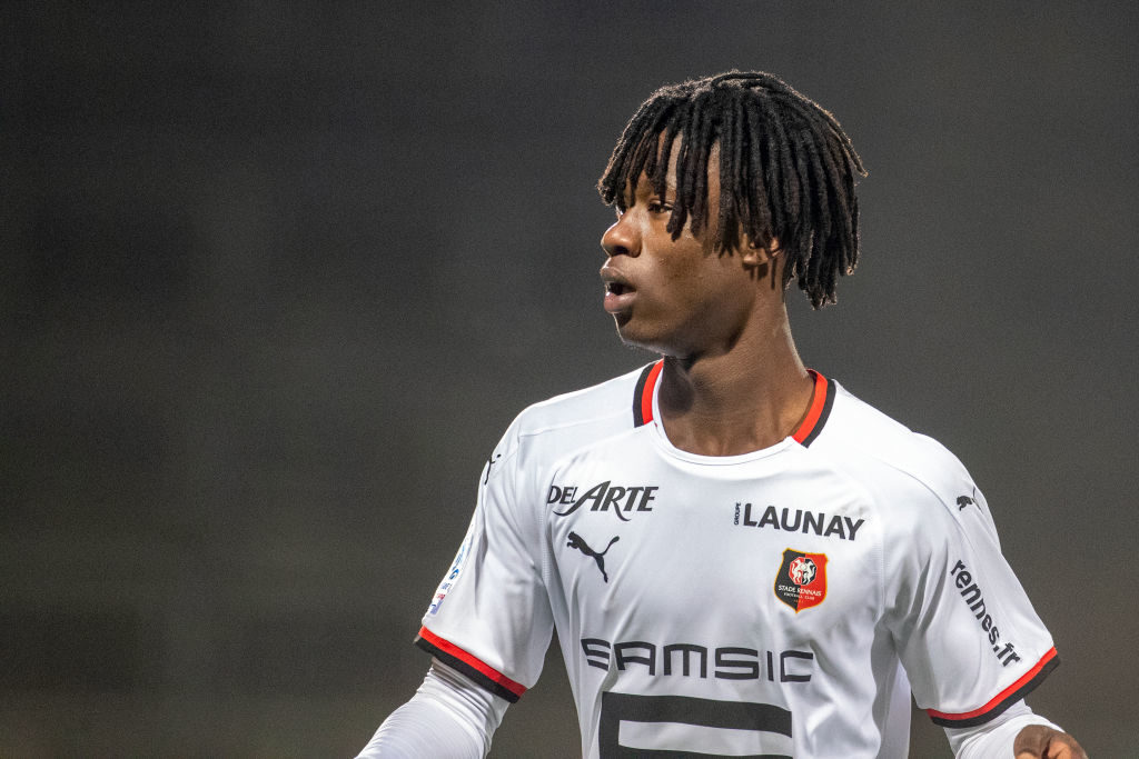 Liverpool reportedly want Eduardo Camavinga.