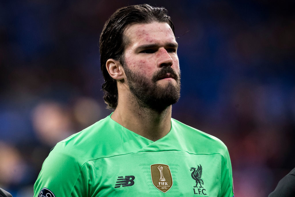 Liverpool missed the injured Alisson Becker.
