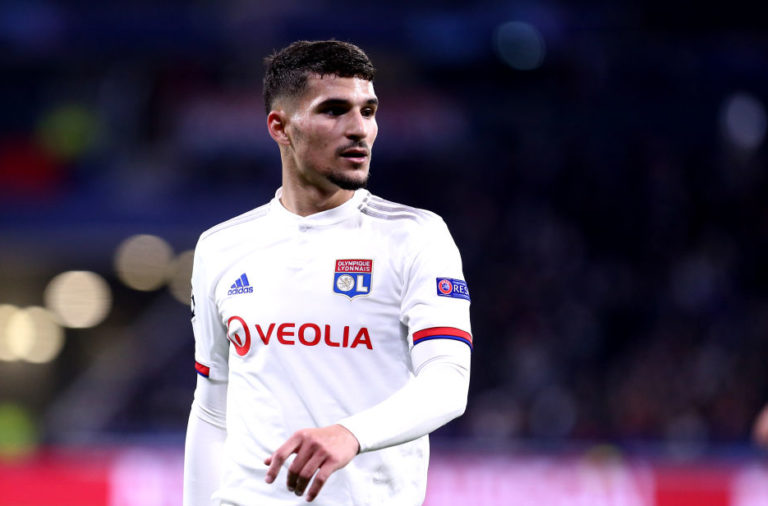 Houssem Aouar was reportedly a target for Liverpool.