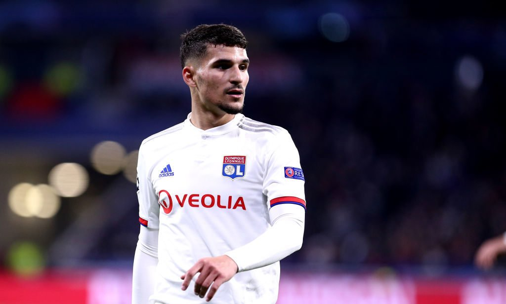 Liverpool target Houssem Aouar could leave Lyon this summer.