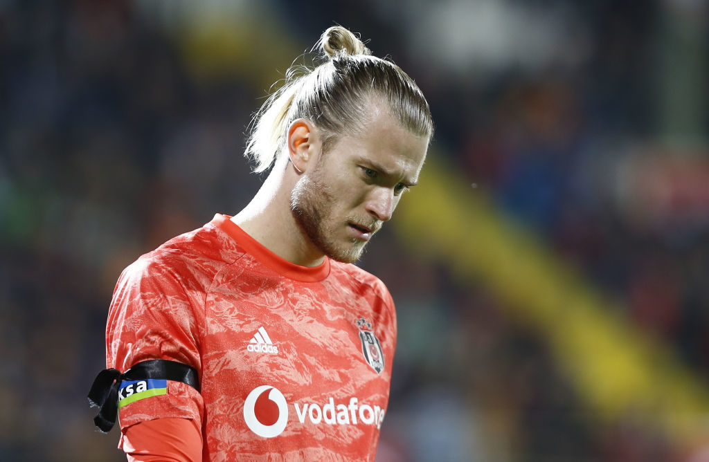 Loris Karius has spent nearly two seasons with Besiktas.