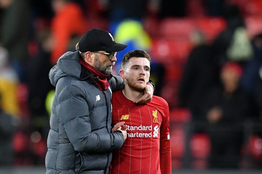 Liverpool could well be victims of Andy Robertson transfer success - Rousing The Kop - Liverpool FC News