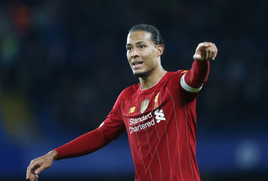 Virgil van Dijk plays virtually every game.