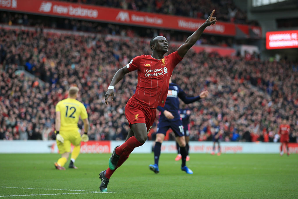 Sadio Mane has become one of the worlds best at Liverpool.