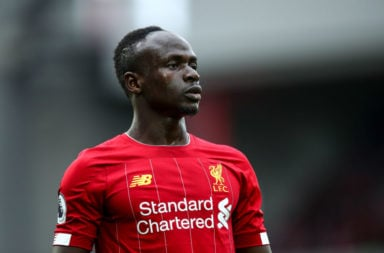 Sadio Mane has been brilliant this season.