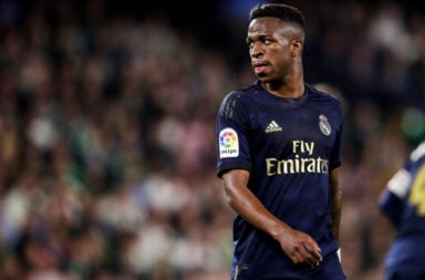 Reports in Spain have claimed that Liverpool are interested in signing Vinicius Jr from Real Madrid.