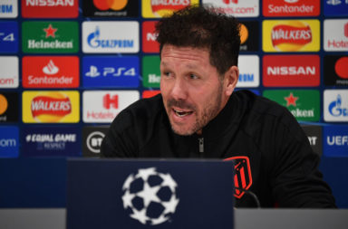 Diego Simeone admitted to an Atletico Madrid weakness.