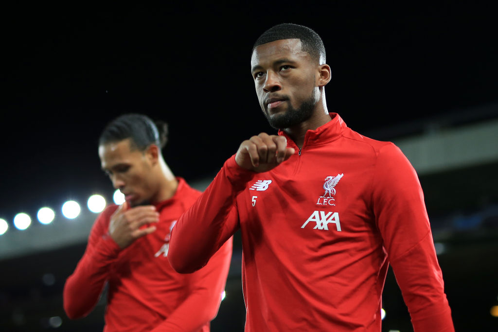 Gini Wijnaldum could be on his way out if reports that Liverpool have agreed a deal with Thiago are true.