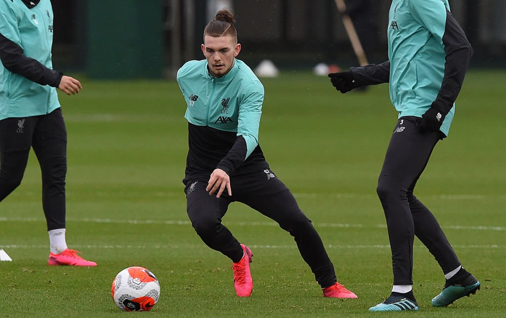 Harvey Elliott has been named in the Liverpool squad for the Champions League group stage.