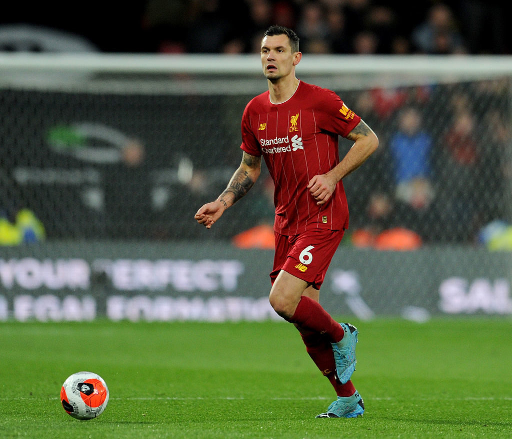 Liverpool will reportedly look to replace Dejan Lovren.