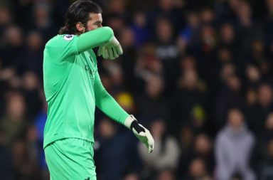 One Alisson Becker stat should reassure Kopites after a bruising defeat.