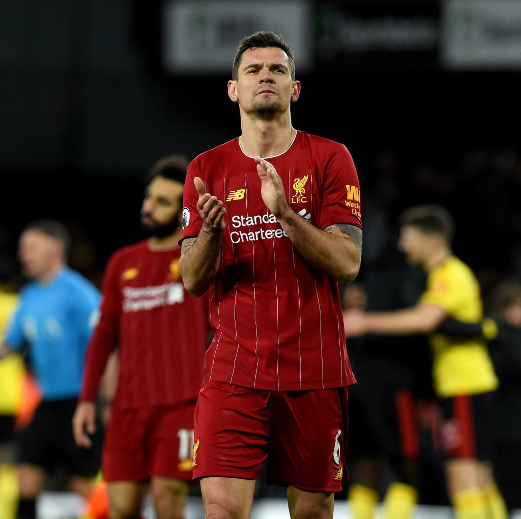 Dejan Lovren could stay for a final year.