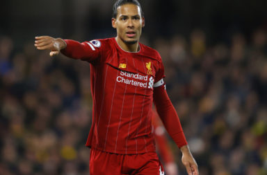 Virgil van Dijk marks his birthday with a start in the Liverpool lineup against Brighton.