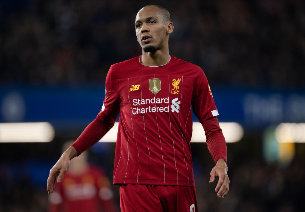 Fabinho could become the fourth choice centre back if Liverpool manage to sign Thiago.