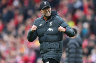 Jürgen Klopp has praised the Liverpool fans at Anfield.