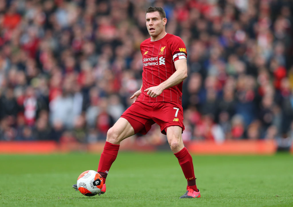 James Milner hasnt played regularly.